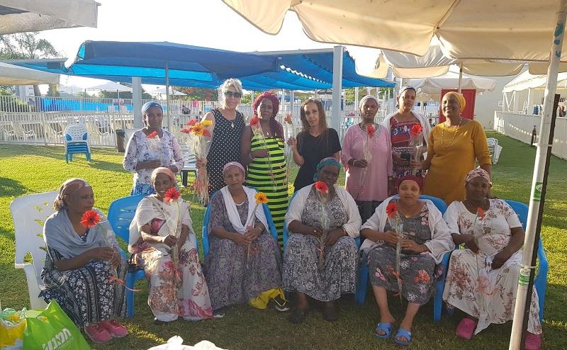 קבוצות גיל הזהב של חוויות קרית משה בבריכת וייסגל