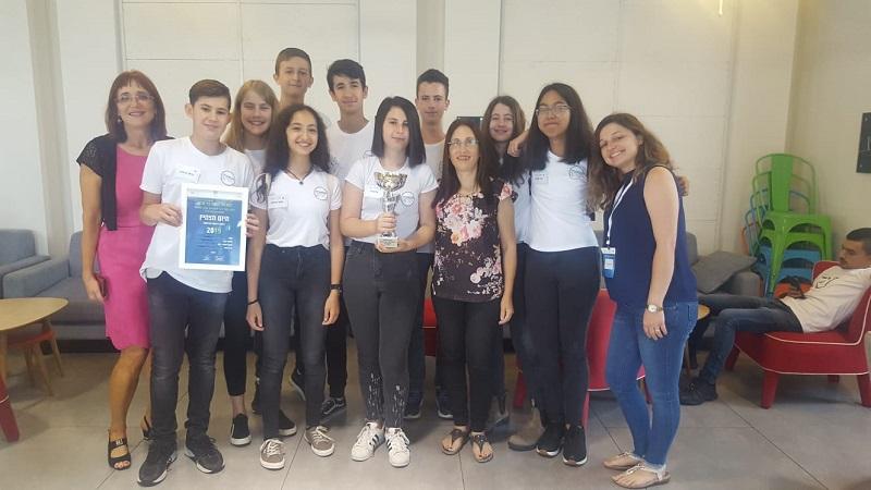 תלמידי קרית החינוך קציר בתחרות יזמות פרימיום