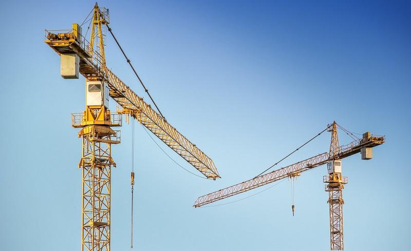 מנופים באתר בנייה (צילום אילוסטרציה)