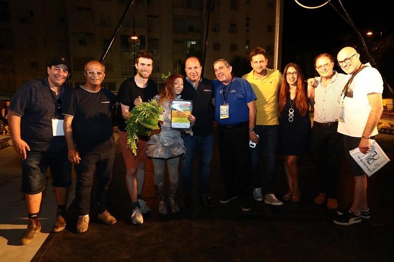 מקום שלישי בפסטיבל הפסלים הבינלאומי ה-10 ברחובות