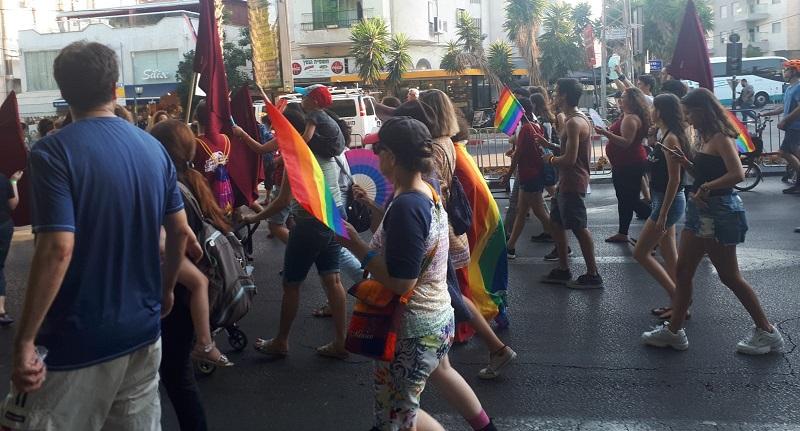 מצעד הגאווה השני ברחובות