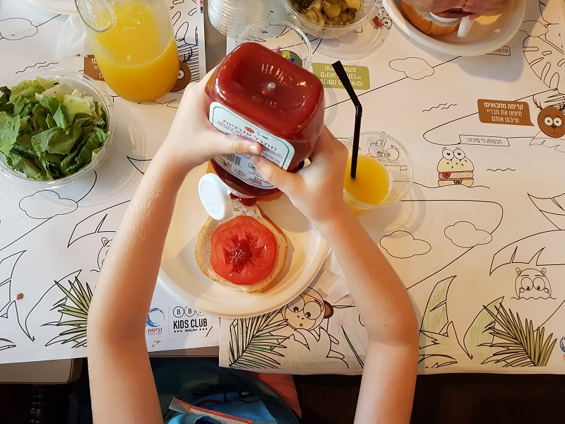סדנאות שף לילדים ברשת BBB (צילום: יוליה פריליק ניב)