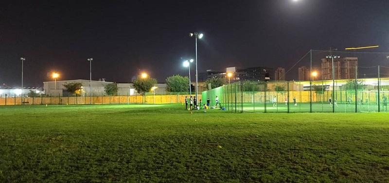 התאורה החלקית בספורטק העירוני