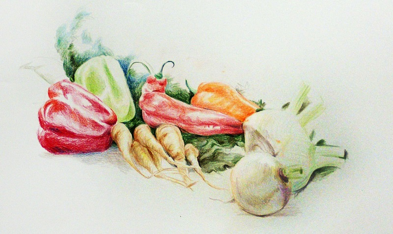 רינת לאור - ציור מן הטבע