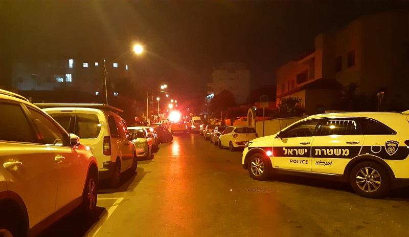 זירת הירי ברחוב ישעיהו
