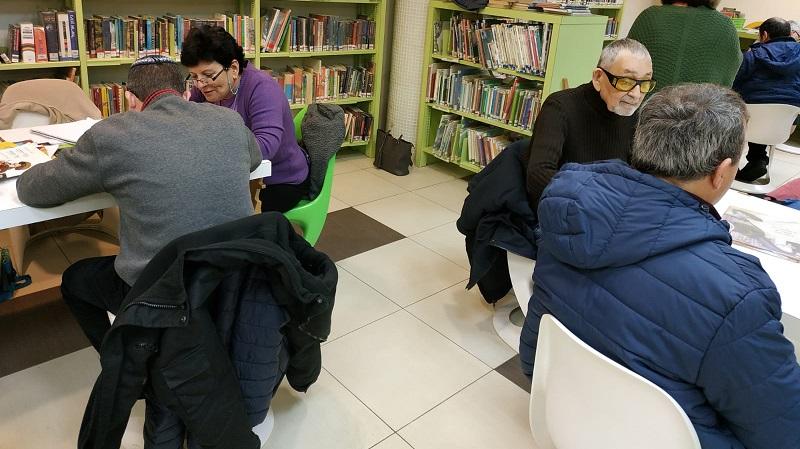 מתנדבי רשת חוויות במפגשי קריאה עם בעלי צרכים מיוחדים