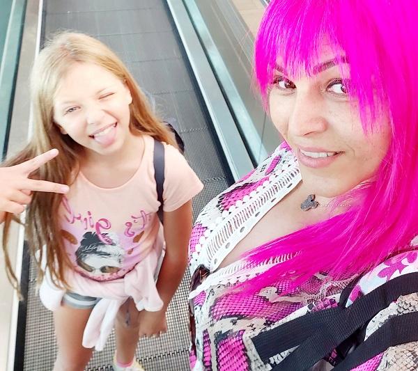 יוספה ברק ובתה לוטם