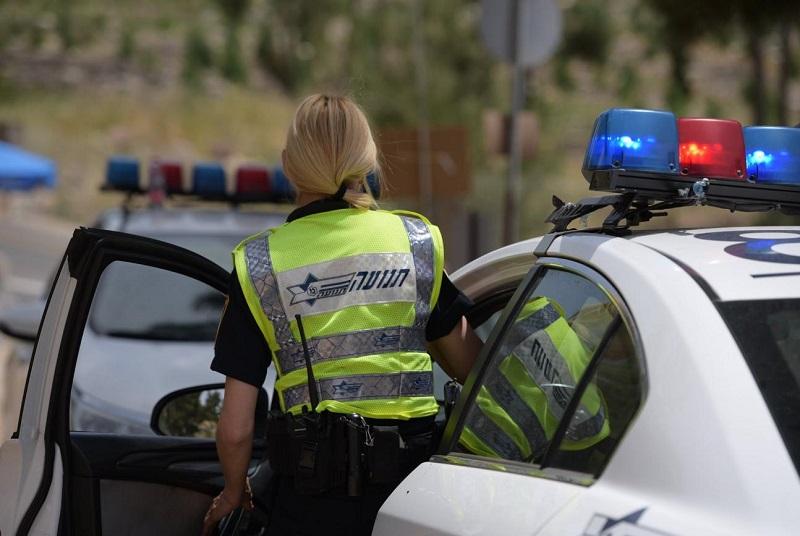 שוטרת תנועה (צילום: דוברות המשטרה)