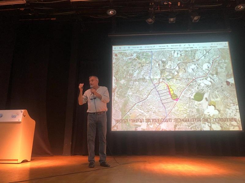 מפגש שיתוף ציבור שני לתוכנית מזרח העיר רחובות