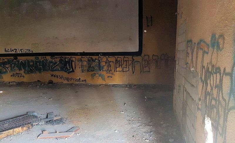 המקלט בו הוחזק הקורבן (צילום: דוברות המשטרה)