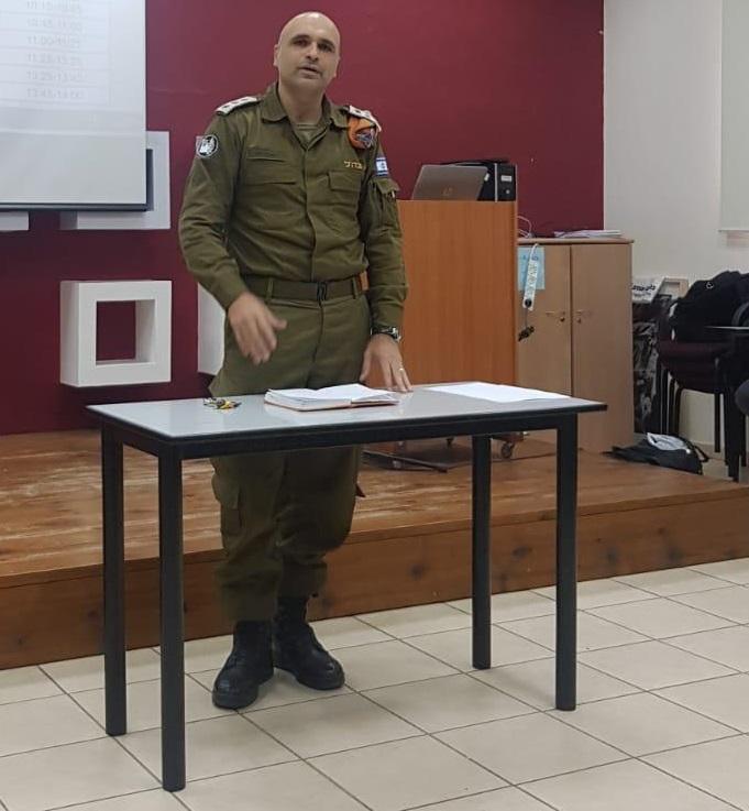 """מפקד מחוז ירושלים והמרכז בפיקוד העורף, אל""""מ איתי לוי"""