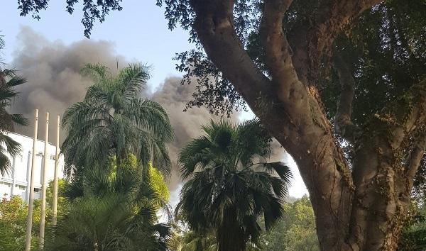 שריפה במכון ויצמן