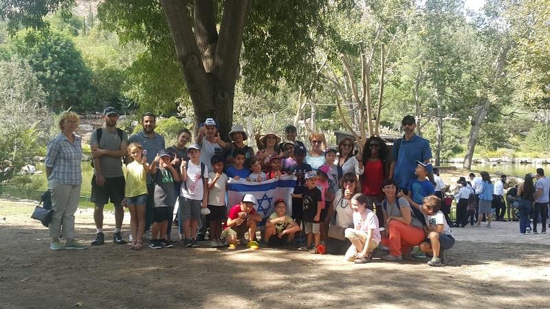 תלמידי בית הספר לשחמט בטיול לירושלים