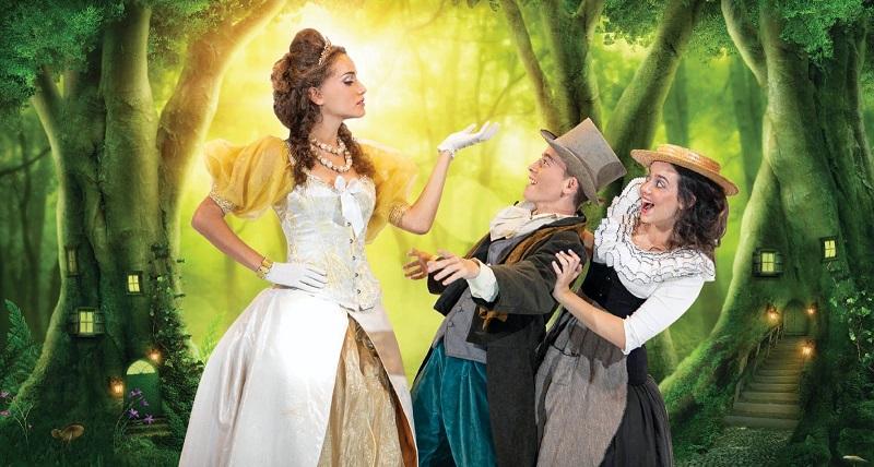 """מחזמר חנוכה """"הנסיכה של אנדרסן"""" (צילום: סלי פטל)"""