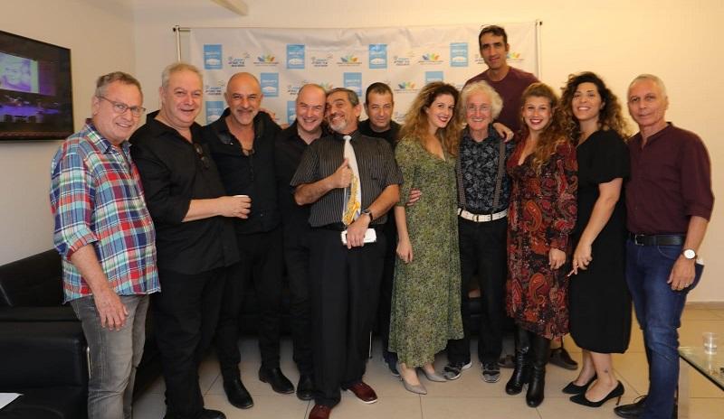 """האמנים שהשתתפו במופע המחווה ליוסי בנאי ז""""ל, עם שוקי קרומר ושלמה טולדו"""