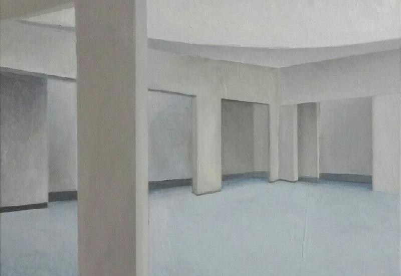 אחד מציוריו של אורי ניר