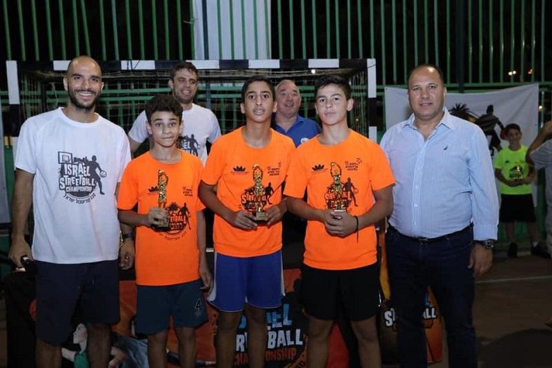 כמה מהזוכים בטורניר סטריטבול רחובות