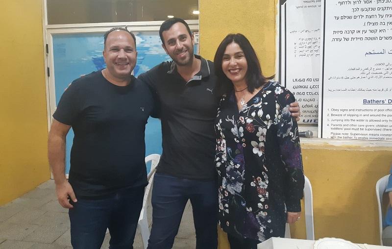 מירי רגב, אלעד חן ואיציק עובדיה