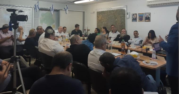 ישיבת מועצת רחובות