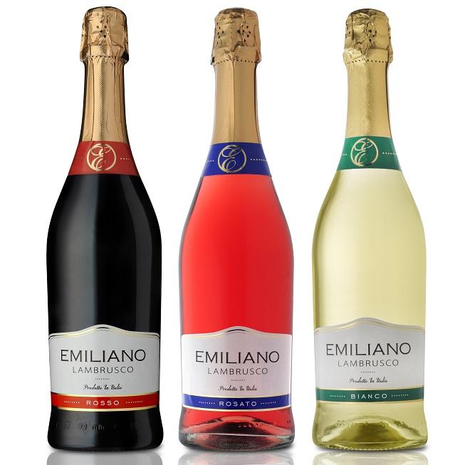 """סדרת יינות מבעבעים EMILIANO (צילום: יח""""צ EMILIANO)"""