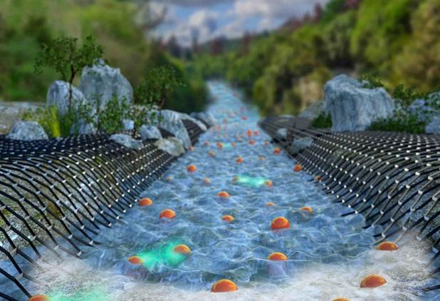 נהר של אלקטרונים