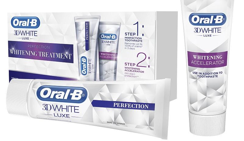 """ערכת הלבנת השיניים של Oral-B (צילום: יח""""צ חו""""ל)"""