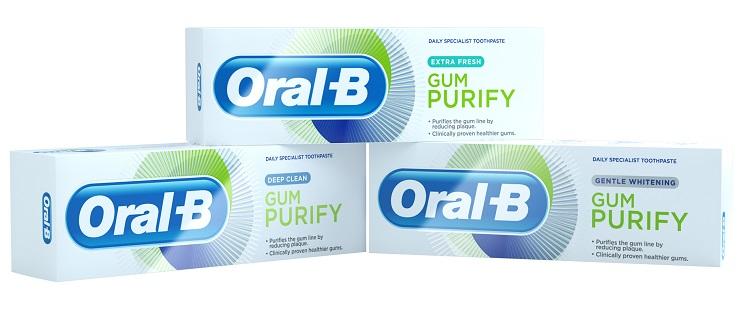 """משחת שיניים חדשה של אורל בי (צילום: יח""""צ חו""""ל)"""