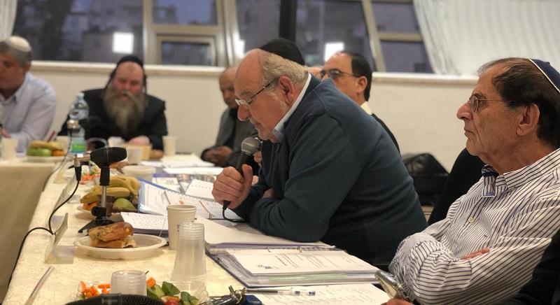 ראש העיר רחמים מלול מציג את עיקרי תקציב העירייה לשנת 2020