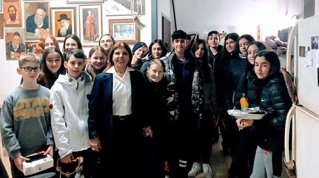תלמידי דה שליט וזהבה יולנדה