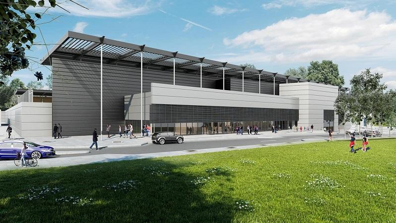 הדמיית האצטדיון העירוני ברחובות