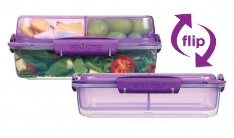 """קופסת אוכל מסדרת To Go של סיסטמה (צילום: יח""""צ)"""