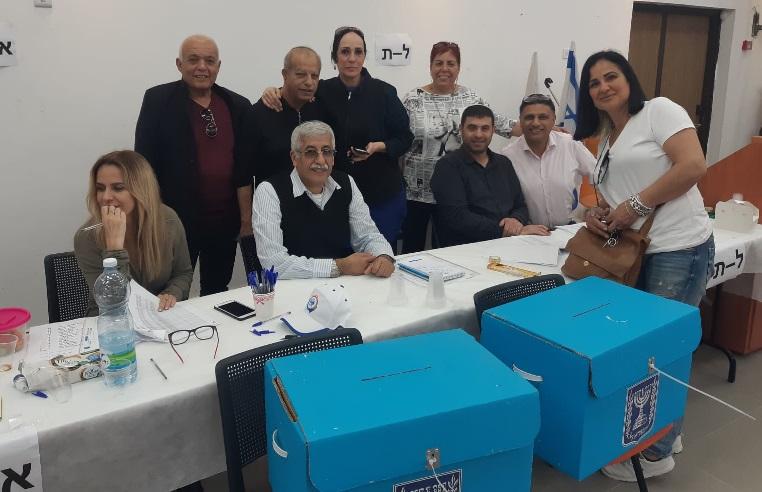הקלפיות וועדת הבחירות לוועד עובדי עיריית נס ציונה