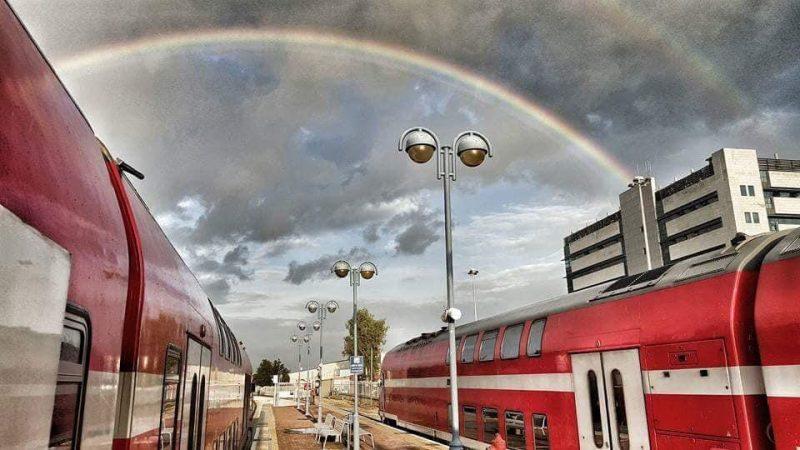 תחנת הרכבת ברחובות. צילום: משה בראל רכבת ישראל