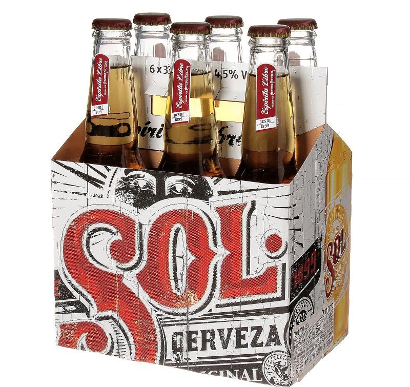 בירה סול (צילום: sell 360 pro)