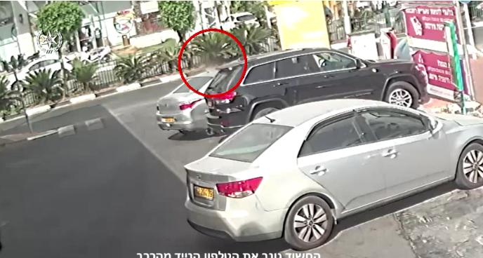 חשוד גנב נייד מרכב