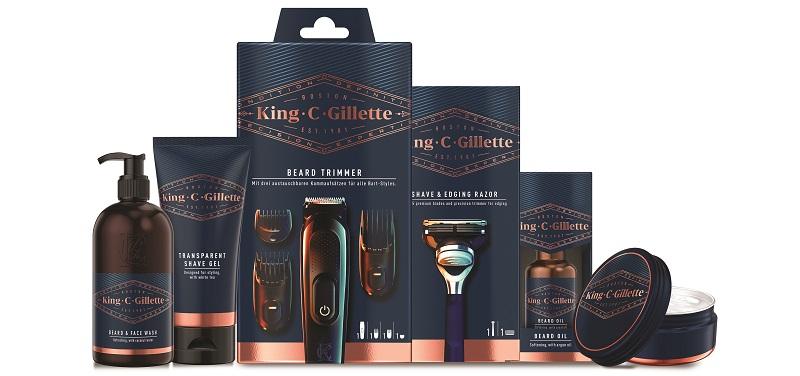 """סדרת מוצרי Gillette KCG (צילום: יח""""צ)"""