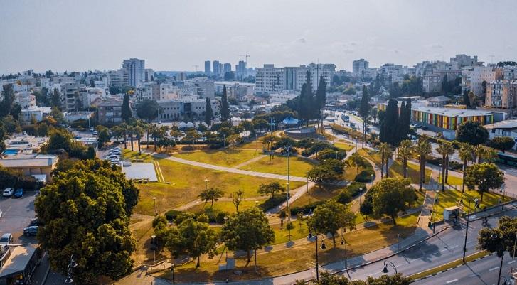 גן המייסדים (צילום: גיא שמואלי)