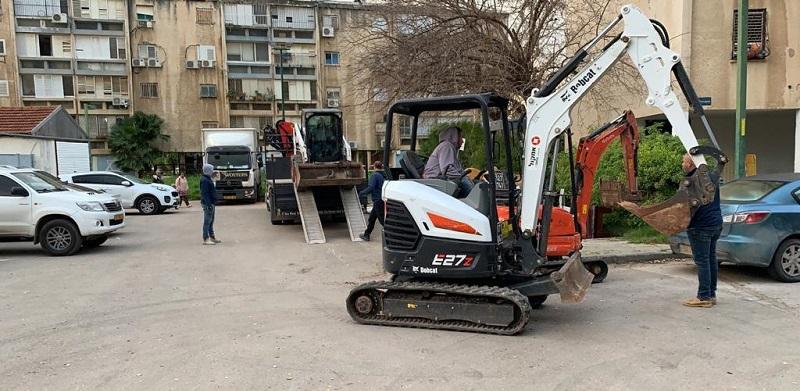 עבודות שבוצעו ברחוב דוד נדב
