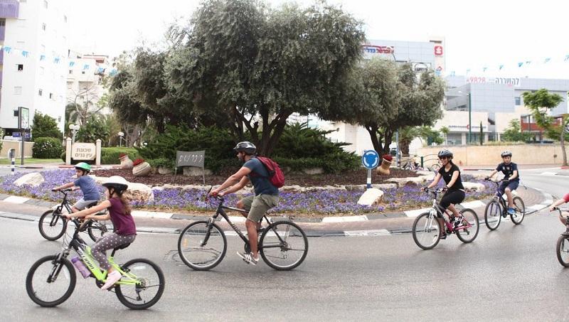מסע האופניים ברחובות