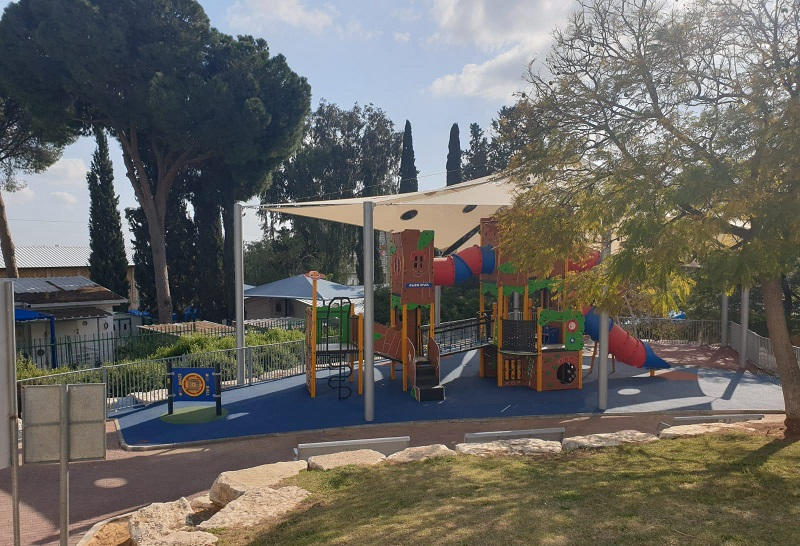 מתחם השעשועים בפארק גבעתי