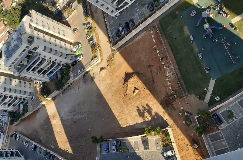 הקמת הפארק המרכזי בחצרות המושבה